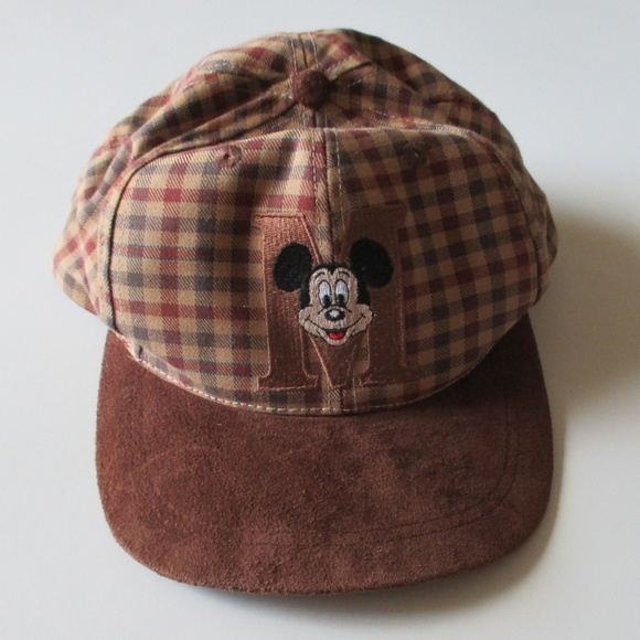 2801f3ea820 Goofy s Hat Co. Accessories - Vintage Goofy s Hat Co. Plaid Mickey Mouse Hat